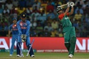 Mashrafe Mortaza was cleaned up for 6, India v Bangladesh, World T20 2016, Group 2, Bangalore, March 23, 2016