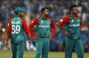 Bangldesh players are dejected after their narrow loss to India, India v Bangladesh, World T20 2016, Group 2, Bangalore, March 23, 2016