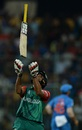 Mahmudullah throws his bat up in frustration after being dismissed, India v Bangladesh, World T20 2016, Group 2, Bangalore, March 23, 2016
