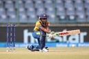 Dilani Manodara attempts a reverse sweep, Australia v Sri Lanka, Women's World T20 2016, Group A, Delhi, March 24, 2016
