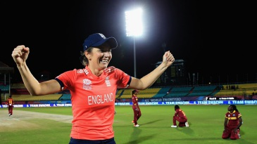 Charlotte Edwards savours her victory as West Indies come to terms with their loss