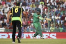 Sharjeel Khan plays a pull, Australia v Pakistan, World T20 2016, Group 2, Mohali, March 25, 2016