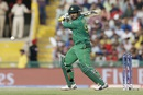 Sharjeel Khan plays a cut, Australia v Pakistan, World T20 2016, Group 2, Mohali, March 25, 2016