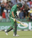Shahid Afridi walks back after being dismissed, Australia v Pakistan, World T20 2016, Group 2, Mohali, March 25, 2016