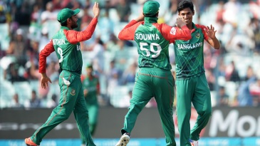 Mustafizur Rahman finished with figures of 5 for 22
