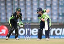 Kim Garth targets the off side, Australia v Ireland, Women's World T20 2016, Group A, Delhi, March 26, 2016