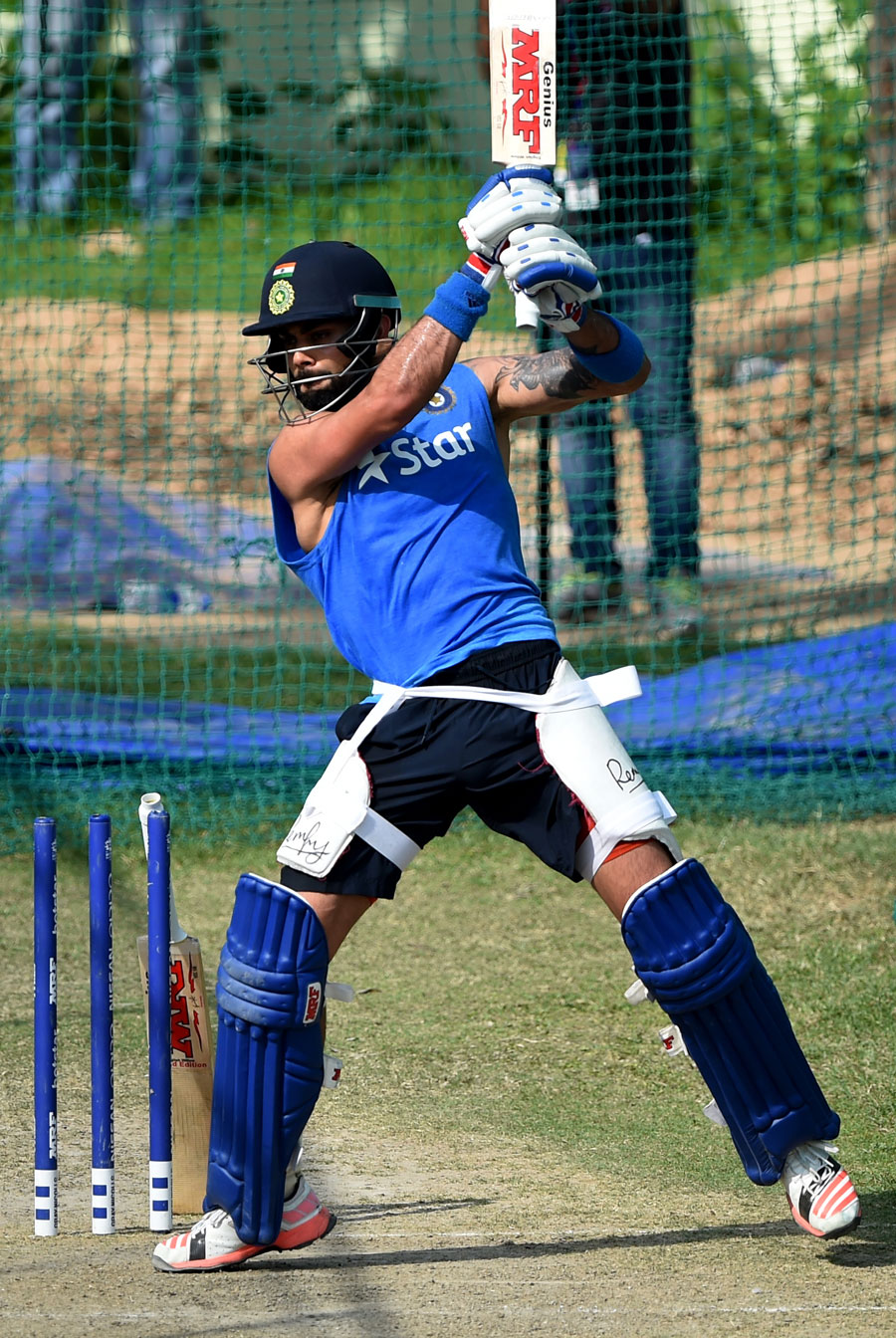 Virat Kohli bats in the nets | Cricket Photo | ESPN Cricinfo