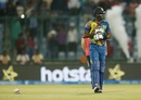 Angelo Mathews is disappointed after Sri Lanka's loss, England v Sri Lanka, World T20 2016, Group 1, Delhi, March 26, 2016