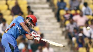 Najibullah Zadran made an unbeaten 48
