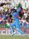 Smriti Mandhana goes through the off side, India v West Indies, Women's World T20 2016, Group B, Mohali, March 27, 2016