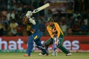 Dinesh Chandimal loses his off stump, South Africa v Sri Lanka, World T20 2016, Group 1, Delhi, March 28, 2016