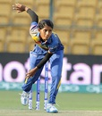 Udeshika Prabodhani took two wickets, South Africa v Sri Lanka, Women's World T20 2016, Group A, Bangalore, March 28, 2016