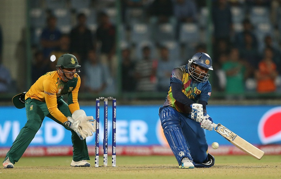 He and Tillakaratne Dilshan put on 45 for the first wicket