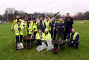 Carlisle CC get to grips with the clean-up operation after the River Eden overflows in December 2015