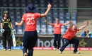 Anya Shrubsole appeals for an lbw against Ellyse Perry, Australia v England, Women's World T20 2016, 1st semi-final, Delhi, March 30, 2016