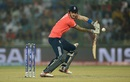 Alex Hales guides one onto the off side, England v New Zealand, World T20 2016, semi-final, Delhi, March 30, 2016