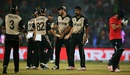 Ish Sodhi dented England's chase with two wickets off consecutive balls, England v New Zealand, World T20 2016, semi-final, Delhi, March 30, 2016
