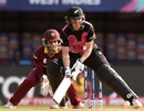 Sara McGlashan sets herself up for the scoop, New Zealand v West Indies, Women's World T20, semi-final, Mumbai, March 31, 2016