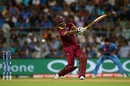 Johnson Charles made a brisk fifty, India v West Indies, World T20 2016, semi-final, Mumbai, March 31, 2016