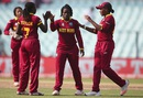 Deandra Dottin celebrates Elyse Villani's wicket with her team-mates, Australia v West Indies, Women's World T20, final, Kolkata, April 3, 2016