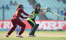 Elyse Villani plays a late cut, Australia v West Indies, Women's World T20, final, Kolkata, April 3, 2016