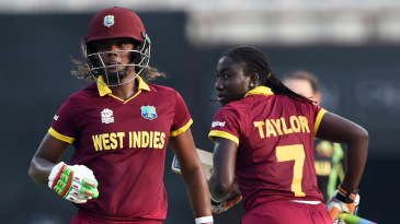 Stafanie Taylor and Hayley Matthews shared a 120-run opening partnership