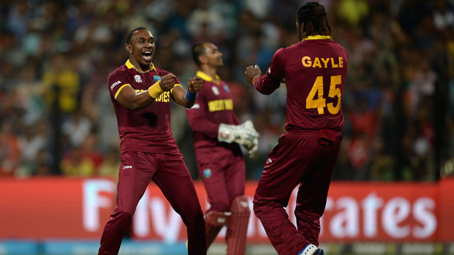 And Dwayne Bravo struck twice in the 14th over, removing Ben Stokes and Moeen Ali, as England sunk to 110 for 5