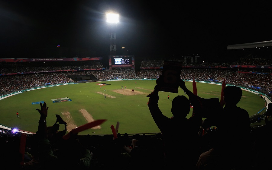 Eden Gardens was packed, lending an explosive atmosphere