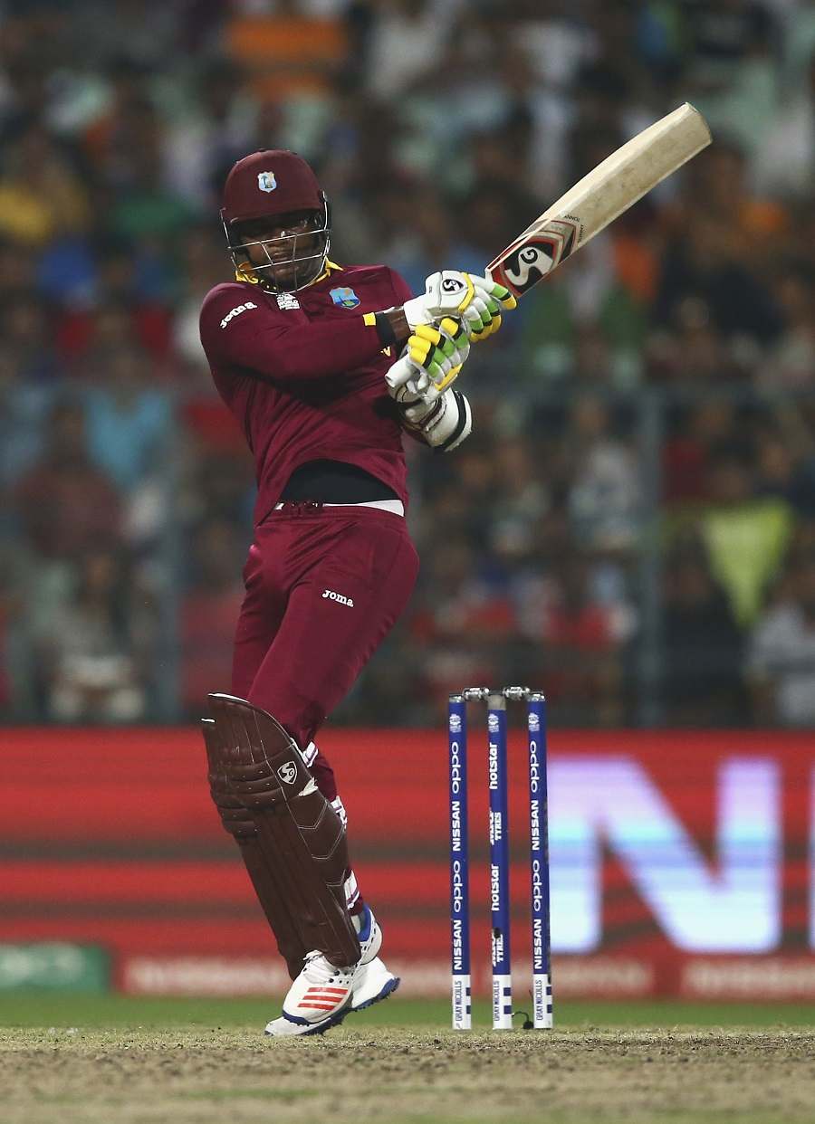 Marlon Samuels held the innings together with another superb half-century, and like in the World T20 final in 2012
