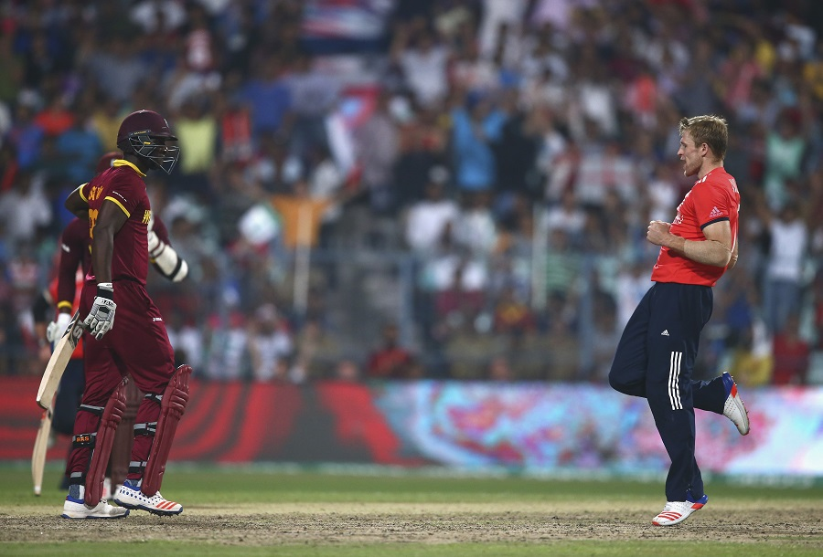 But David Willey bowled a similarly inspired spell, taking 3 for 20 in four overs
