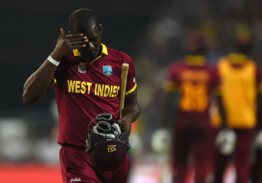 Darren Sammy fell for a run-a-ball two and West Indies, at 107 for 6, had still needed 49 runs off 27 balls