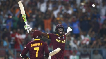 Carlos Brathwaite hit four sixes on the trot to seal the title