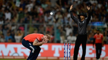 Ben Stokes had 18 runs to defend, but was hit for four sixes