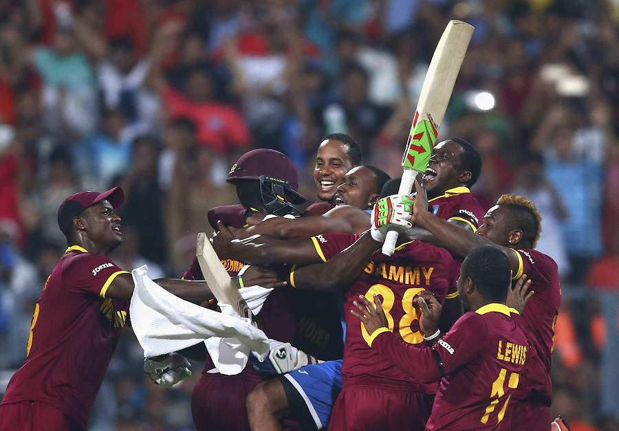 While West Indies were over the moon to be two-time World T20 champions