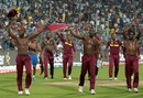 The West Indies team take a lap of honour after their victory, England v West Indies, World T20, final, Kolkata, April 3, 2016