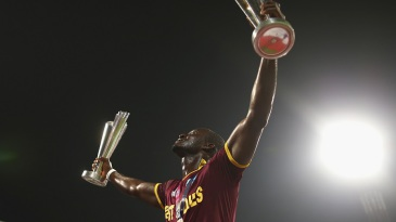 Darren Sammy has his hands full