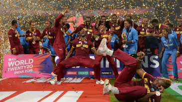 West Indies were outrageous with their celebrations after finishing an outrageous match