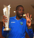 How many world titles have West Indies won this year, Curtly?, England v West Indies, World T20, final, Kolkata, April 3, 2016