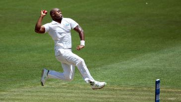 Tino Best in his delivery stride