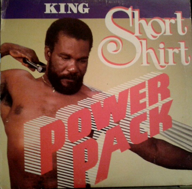 King Short Shirt: cool name, cooler album cover