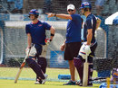 Stephen Fleming directs Rising Pune Supergiants' training session, Mumbai, April 8, 2016