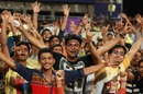 The Eden Gardens crowd left a happy bunch after their team enjoyed a good day, Kolkata Knight Riders v Delhi Daredevils, IPL 2016, Kolkata, April 10, 2016