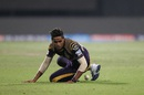 Suryakumar Yadav tries to field the ball, Kolkata Knight Riders v Delhi Daredevils, IPL 2016, Kolkata, April 10, 2016