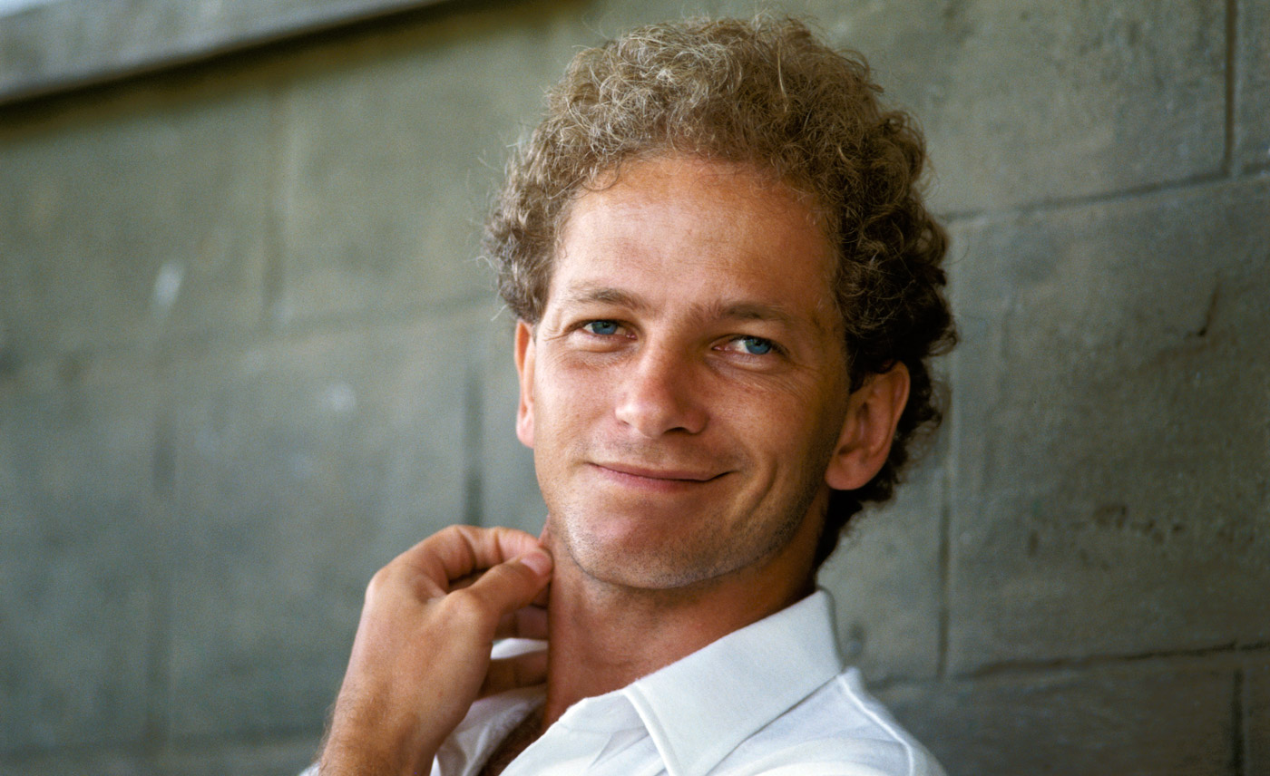 David Gower in St Vincent on England's 1985-86 tour of West Indies