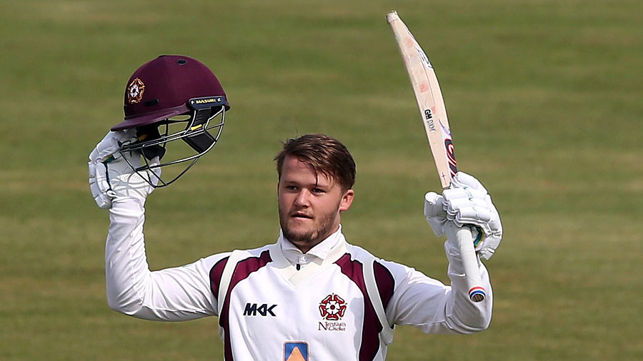 Ben Duckett scored the first double century of the season