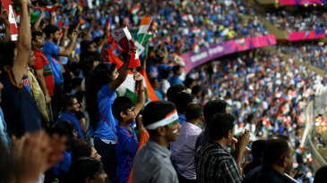 Fans at the Wankhede