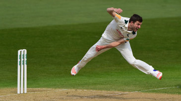 Harry Gurney helped remove Surrey's middle order