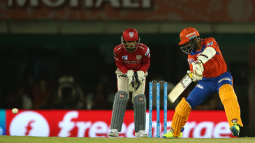 Dinesh Karthik plays a square cut