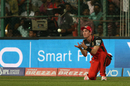 Adam Milne takes a catch to get rid of David Warner, Royal Challengers Bangalore v Sunrisers Hyderabad, IPL 2016, Bangalore, April 12, 2016