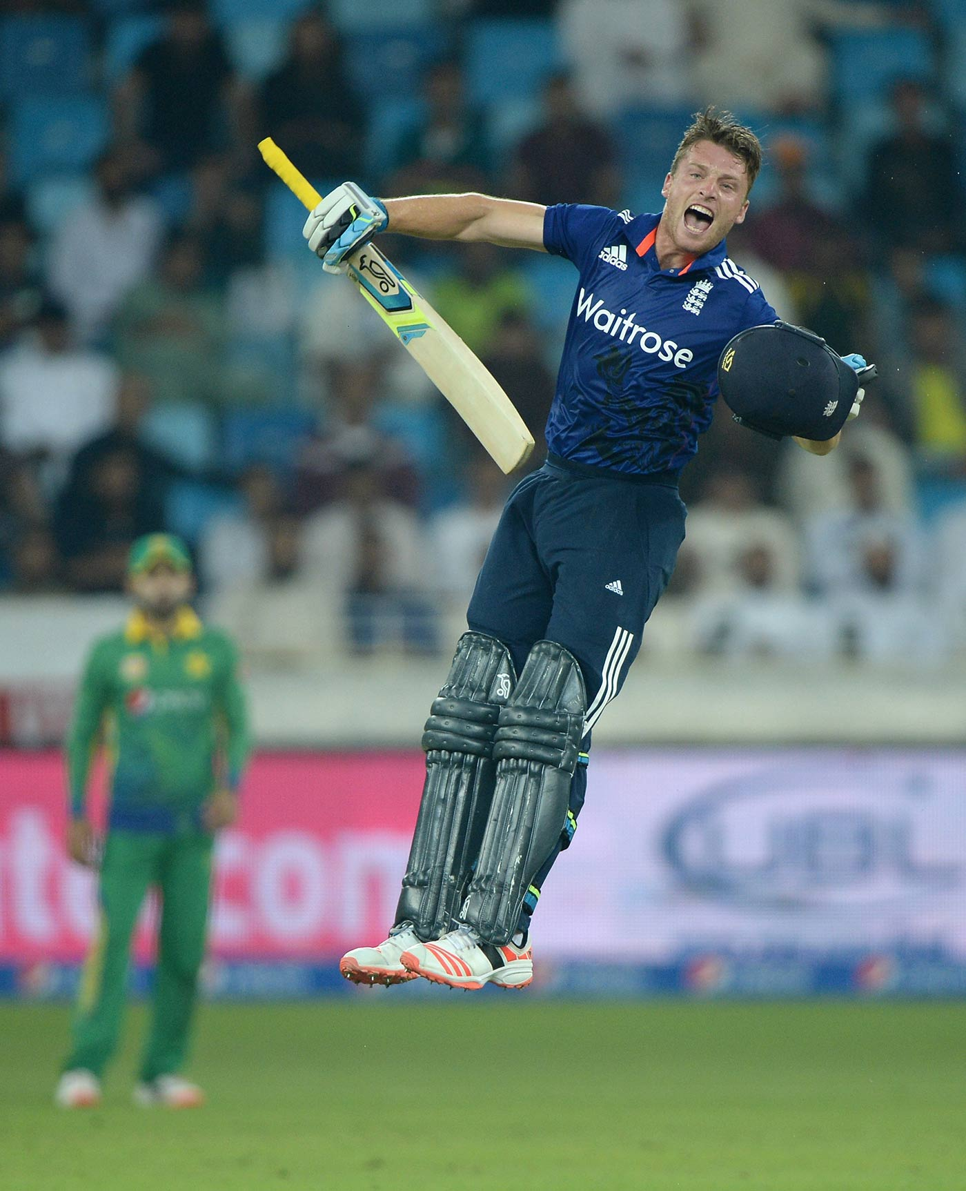 Pedal to the metal: Buttler repeatedly broke the record for fastest ODI hundred by an Englishman, most recently against Pakistan in Dubai in November 2015